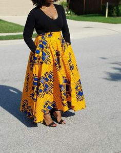 Fabric Hi-low Maxi Circle Skirt; African Print Skirt African Fabric Hi-low Maxi Circle Skirt; African Print SkirtAfrican Fabric Hi-low Maxi Circle Skirt; Short African Dresses, Latest African Fashion Dresses, African Print Fashion, African Dresses Plus Size, Skate Rock, African Print Skirt, African Fabric, Ankara Fabric, Kente Styles