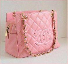 b65732230d23b Chanel bag pink Bolsa rosa Chanel  Guccihandbags Chanel Handbags