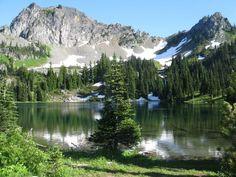 Upper Crystal Lake - Washington