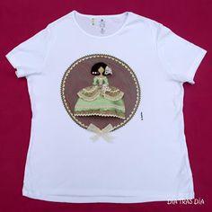 Camiseta decorada con una menina