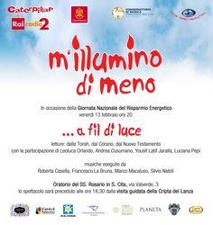 M' illumino di Meno Palermo 13 Febbraio 2015