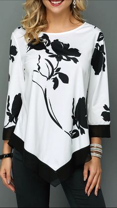 Stylish Tops For Girls, Trendy Tops, Trendy Fashion Tops, Trendy Tops For Women Page 2 Blouse Styles, Blouse Designs, Trendy Tops For Women, Stylish Tops, Casual Tops, Blouses For Women, Mode Outfits, Trendy Fashion, Women's Fashion
