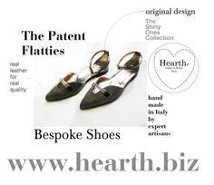 """""""The Patent Flatties"""" by hearthfashion on Polyvore featuring moda"""