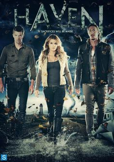The holy trinity of Haven - Audrey Parker, Nathan Wuornos and Duke Crocker are back!