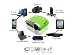 Mini LED Projektor SD/USB VGA hdmi - Best-shop.sk