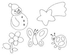 Fise de lucru- exercitii grafice | grupaalbinutelor Preschool Coloring Pages, Pre Writing, Felt Patterns, Drawing For Kids, String Art, Preschool Activities, Projects For Kids, Kindergarten, Homeschool