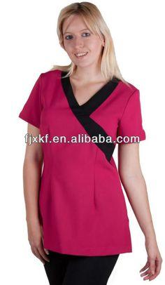 Spa uniform on pinterest hotel uniform boutiques and for Spa uniform female