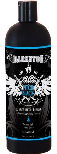 Best price on Darksyde Pitch Black Ultimate Silicone Bronzer Tanning Lotion 16oz // See details here: http://makeupproductsmart.com/product/darksyde-pitch-black-ultimate-silicone-bronzer-tanning-lotion-16oz/ // Truly a bargain for the inexpensive Darksyde Pitch Black Ultimate Silicone Bronzer Tanning Lotion 16oz // Check out at this low cost item, read buyers' comments on Darksyde Pitch Black Ultimate Silicone Bronzer Tanning Lotion 16oz, and buy it online not thinking twice! Check the price…