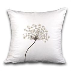 Queen Anne's Lace pillow