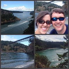 Day 3 Seattle adventures:  Deception Pass State Park, walking over the bridge, hiking to the beach & picking wild blackberries along the way :)