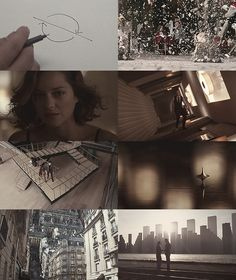 Christopher Nolan's Inception (2010) Leonardo DiCaprio, Joseph Gordon-Levitt, Ellen Page, Tom Hardy, Marion Cotillard, Ken Watanabe, and Cillian Murphy. This is an amazing movie that will constantly keep your mind wondering... a must see!