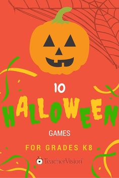 Enjoy 10 fun Halloween games to play with students in your classroom. https://www.teachervision.com/slideshow/halloween/54440.html?utm_content=buffera2fb9&utm_medium=social&utm_source=pinterest.com&utm_campaign=buffer #Halloween #Games #elemchat