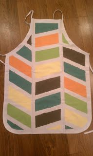 DIY Apron. Only $5! - Outsmarting Life   #apron #diy #kitchen