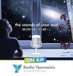 Σάββατο 20 Φεβρουαρίου 11 το πρωί ευχηθείτε μας Καλή Αρχή! On Air Radio, Yoga, News