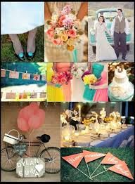 Image result for tiffany blue watermelon lemon vintage wedding inspiration