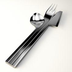 Monolit è una linea di posate, estendibile anche a piatti e bicchieri, per la ristorazione, ma anche per chi vuole unire eleganza e stile nella propria casa.Nasce dall'idea di unire oggetti fra loro; il gioco dell'accostamento rende la tavola apparecchia…