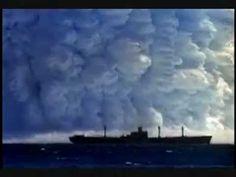 Atombombe førsøg nord for Læsø Danmark - YouTube