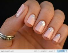 Pretty Nails For A Formal Night Out