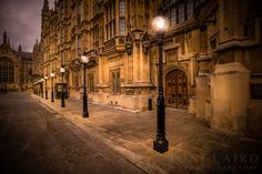 The Palace of Westminster which is the meeting place of the House of Commons and the House of Lords in London