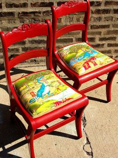10 ways to transform an old chair