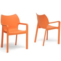 http://www.overstock.com/Home-Garden/Limerick-Orange-Plastic-Stackable-Modern-Dining-Chairs-Set-of-2/6985392/product.html?CID=214117 $189.99