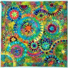 The Colourful Quilt, 53 x 53, by Jacqueline de Jonge, at Be Colourful