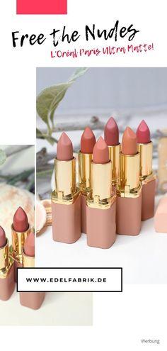 Loreal Color Riche Ultra Matte Free The Nudes – Die Lippenstifte im Test!