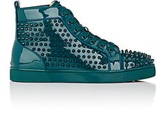 We Adore: The Louis Orlato Flat Patent Leather Sneakers from Christian Louboutin at Barneys New York