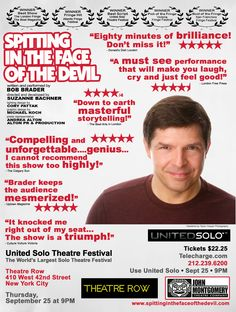 Spitting In The Face Of The Devil Poster