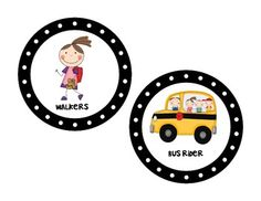 How We Go Home {transportation cards} - by Kelly McHaffie - FREE on TpT!