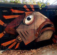 Mika street art