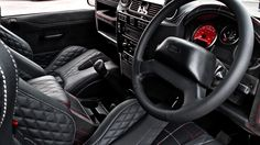 Land Rover Defender Harris Tweed Edition by Kahn Design - Por Homme - Contemporary Men's Lifestyle Magazine Kahn Defender, Land Rover Defender 110, Kahn Design, Harris Tweed Fabric, Wide Body Kits, Terrain Vehicle, Luxury Cars, Cool Cars, Autos