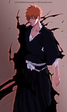 Ichigo vêtu de son Fullbring.