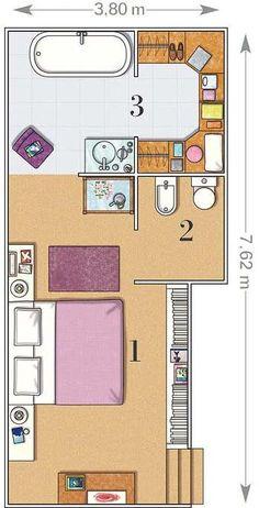 Un dormitorio tipo suite con ba o y vestidor vestidor for Sonar con cuarto de bano