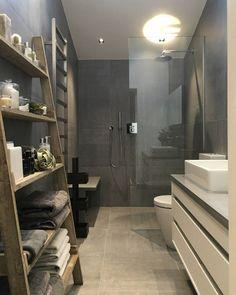 Modern, sade ve bir o kadar güzel bir banyo dekorasyonu #dekorasyon #banyo
