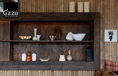 Décoration intérieure en objets et motifs africains par Galeazzo Design