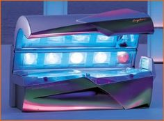 Image result for 80s tanning bed