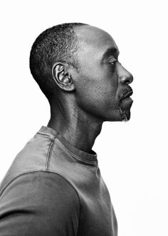 Don Cheadle (1964) - American actor and producer. Photo © Billy Kidd.
