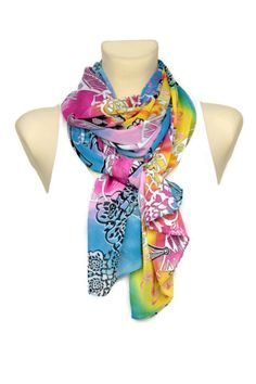 Hey, I found this really awesome Etsy listing at https://www.etsy.com/listing/191786153/sale-blue-pink-floral-fashion-scarf