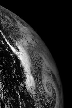 Fractal spirals from space.