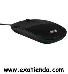 """Ya disponible Rat?n Sweex USB negro plano   (por sólo 10.99 € IVA incluído):   -""""Plug and play"""": SI -Tamaño de cable: 1.52 m -Dimensiones (Ancho x Alto x Largo):104.5 x 54 x 40 mm -Peso: 42 g -Color de producto: Negro -Interfaz: USB -Tecnología de conectividad: Cable -Cantidad de botones: 3 -Tecnología de detección de movimientos: Optical -Resolución de movimiento: 1000 DPI -Rueda de desplazamiento: SI  -P/N: MI061 Garantía de 24 meses.  http://www.exabyteinformatic"""