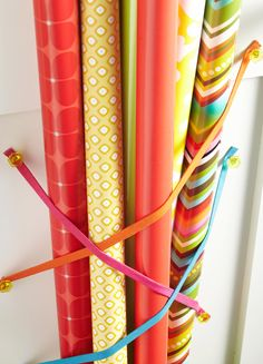 Here's how to use the backs of closet or cabinet doors and off-the-shelf add-ons to create helpful organizing solutions. These behind-the-door storage ideas will help you store more without taking up space. Door Storage, Closet Storage, Craft Storage, Storage Ideas, Storage Room, Garage Storage, Organization Station, Closet Organization, Organizing Life