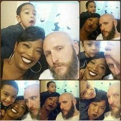 Adorable interracial family collage #lovingday
