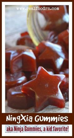 NingXia Gummies. A super delicious and nutritious snack that your kids LOVE! They are a great way to pack in some extra protein, gelatin, and antioxidants. Plus, your kids think they are getting treats! realfoodrn.com #ninxiared #ningxiagummies