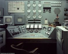 Explosive work: The B Reactor Control Console which was completed in Hanford Nuclear Reservation, Washington in 1944 and used to source plutonium for the Nagasaki Bomb