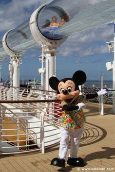 Disney Dream Cruise Ship.