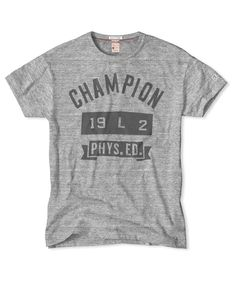 Champion Phys. Ed. T-Shirt in Grey Heather