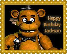 Five Nights at Freddy's 2 Edible Birthday Cake OR Cupcake... https://www.amazon.com/dp/B076H8JL5C/ref=cm_sw_r_pi_dp_x_h4P9zbMAHR807