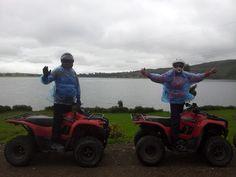 Paseo por la Laguna en Cuatrimotos http://condetravel.travel/ #Cuatrimotos