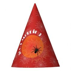 #party - #Cross spider in the net party little hat